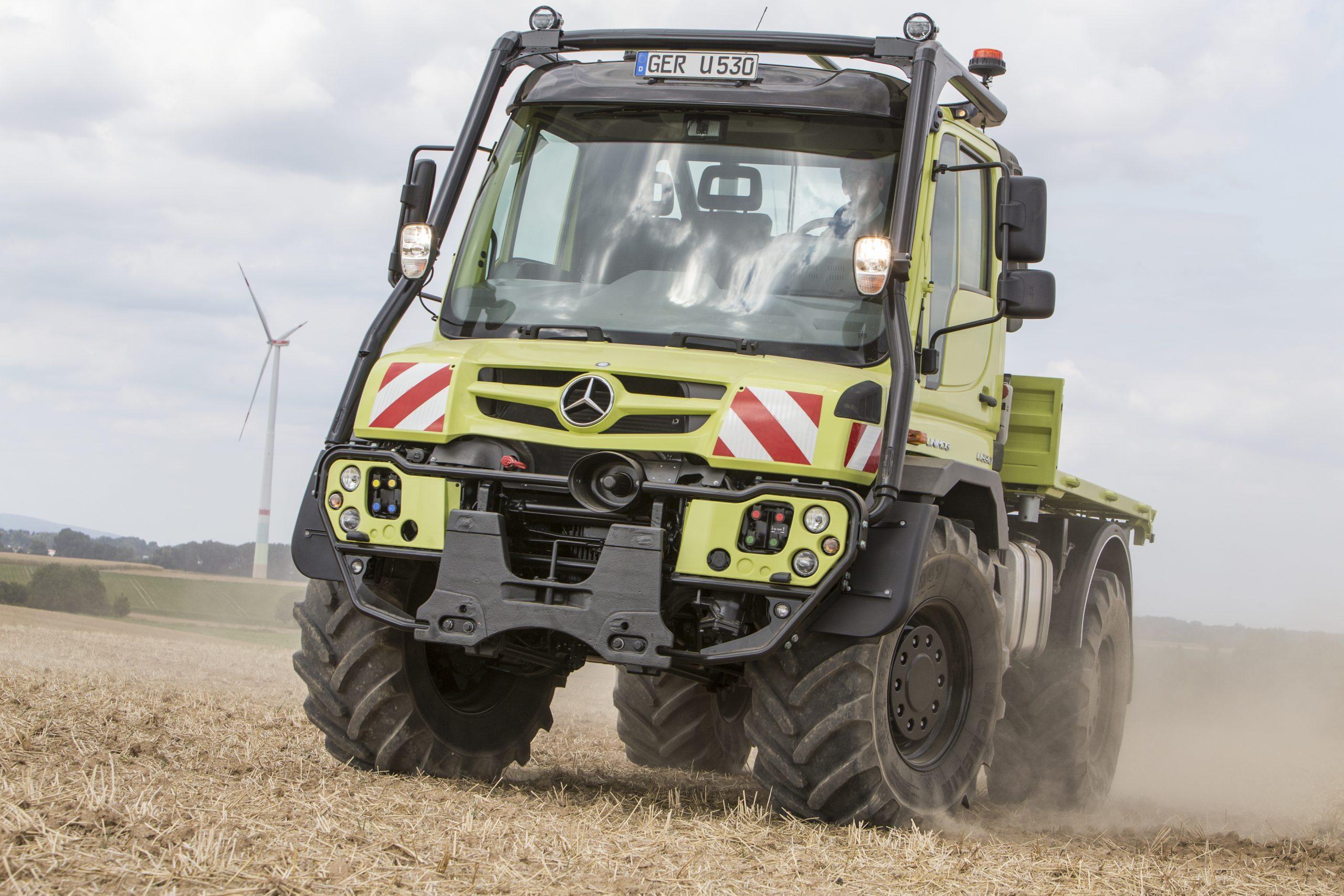 U 530; Landwirtschaft, Traktorkäfig, Agrarheck, IAA 2018